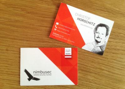 Nimbusec Visitenkarten