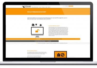 nimbusec Webseite