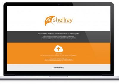 Shellray Webseite