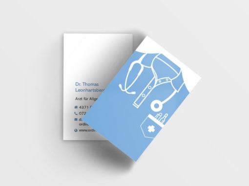 Visitenkarte Arzt